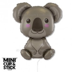 Mini Koala Baby Air-Filled Stick Balloon