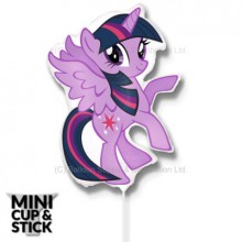 Mini My Little Pony Twilight Sparkle Air-Filled Stick Balloon