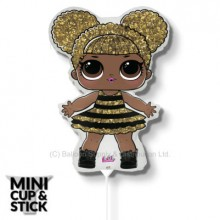 Mini LOL Surprise Queen Bee Air-Filled Stick Balloon