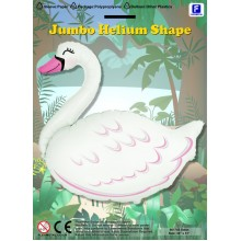 Jumbo Swan Shape Balloon