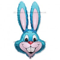 Jumbo Blue Bunny Rabbit Shape Balloon