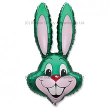 Jumbo Green Bunny Rabbit Shape Balloon -  CAN NO LONGER GUARUNTEE DELIVERY FOR EASTER