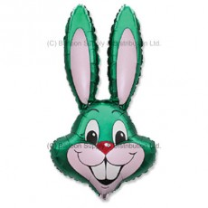 Jumbo Green Bunny Rabbit Shape Balloon