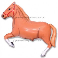 Jumbo Brown Horse Shape Balloon
