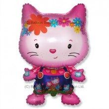 Jumbo Little Cat Friends Shape Balloon
