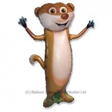 XL Jumbo Meerkat Shape Balloon