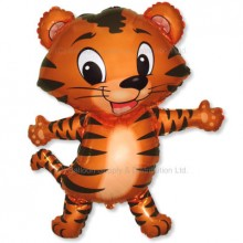 Jumbo Tiger Cub Shape Balloon