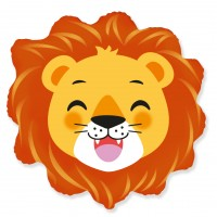 NEW! Jumbo Lion Head Shape Balloon