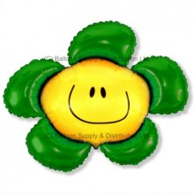 XL Jumbo Green Flower Shape Balloon
