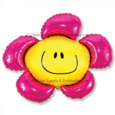 XL Jumbo Pink Flower Shape Balloon
