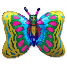 Jumbo Gold Butterfly Shape Balloon