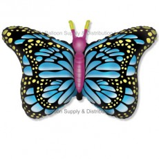 Jumbo Blue Royal Butterfly Shape Balloon