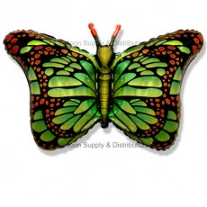 Jumbo Green Royal Butterfly Shape Balloon