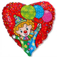 "18"" Happy Clown Balloon"