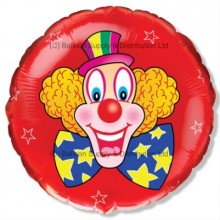 "18"" Clown Balloon"