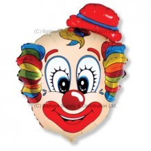 Jumbo Clown Head Head Shape Balloon