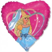 "18"" Dancing Princess Balloon"
