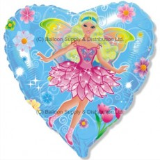 "18"" Fairy Blue Balloon"