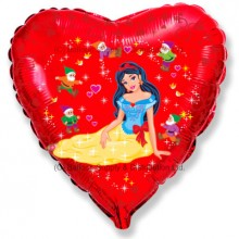 "18"" Yellow Princess Balloon"
