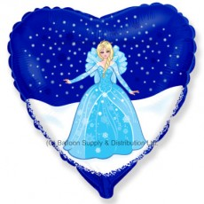"18"" Winter Princess Balloon"