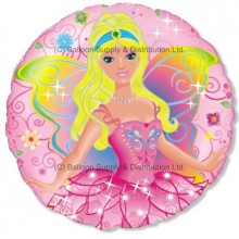 "18"" Fairy PInk Balloon"