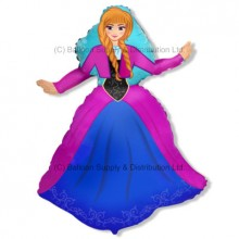 Jumbo Princess Alexia Shape Balloon