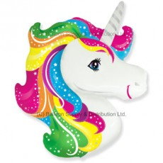 XL Jumbo Unicorn Head Shape Balloon