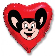 "18"" Mighty Mouse Red Balloon"