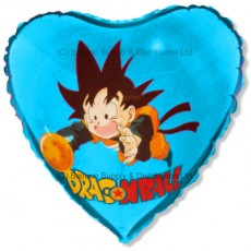 "18"" Dragonball Son Goku Blue Balloon"