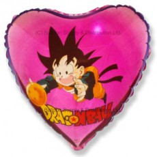 "18"" Dragonball Son Goku Magenta Balloon"