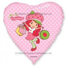 "18"" Strawberry Shortcake Shopping Balloon"