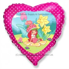 "18"" Strawberry Shortcake Garden Balloon"