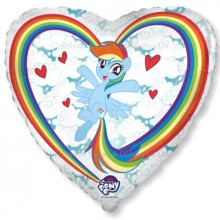 "18"" My Little Pony Clouds Balloon"