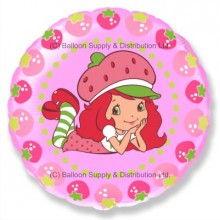 "18"" Strawberry Shortcake Character Balloon"