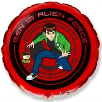 "18"" Ben 10 Red Balloon"