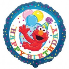 "18"" Elmo Birthday Balloon"