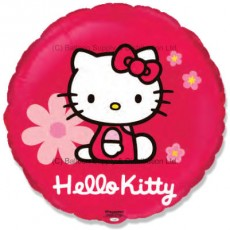 "18"" Hello Kitty Flowers Balloon"