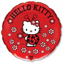 "18"" Hello Kitty Ladybird Balloon"