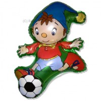 »BULK ORDER ONLY: Jumbo Noddy Football Shape Balloon