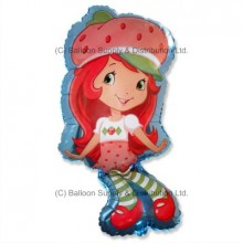 Jumbo Strawberry Shortcake Shape Balloon