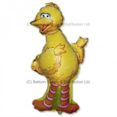 Jumbo Sesame Street Big Bird Shape Balloon