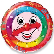 "18"" Clock Balloon"