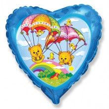 "18"" Parachute Bears Balloon"