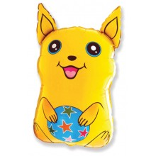 Jumbo Yellow Dog Shape Balloon