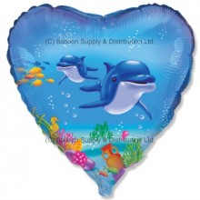 "18"" Happy Dolphin Balloon"