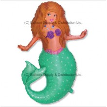 Jumbo Pretty Mermaid Shape Balloon