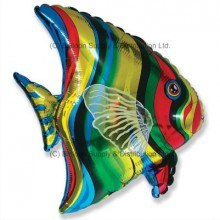 Jumbo Tropical Fish Shape Balloon