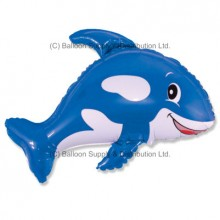 Jumbo Blue Whale Shape Balloon