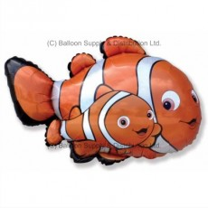 Jumbo Clownfish II Shape Balloon