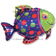 Jumbo Spot Fish Shape Balloon